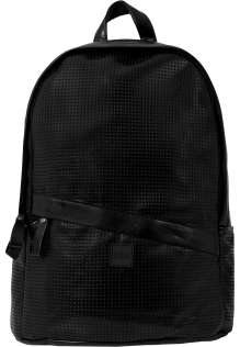 Perforated Leather Imitation Backpack