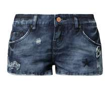 Ladies Denim Skinny Shorts Chloe