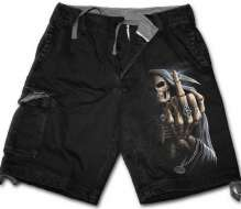 Cargo Shorts Spiral Direct Bone Finger