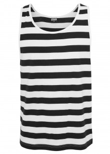 Camiseta sin manga Stripe Big