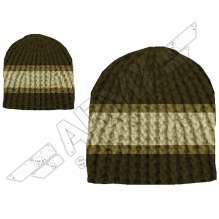 Gorro de punto Stripes Crochet